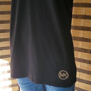 EUC!  Michael Michael Kors tshirt gold logo